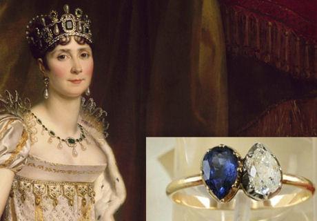 1億円を超えるナポレオンの婚約指輪