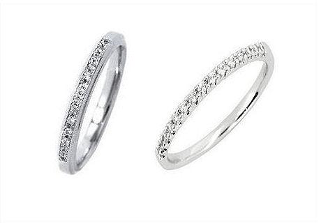 婚約指輪にはエタニティーリングを選択しました
