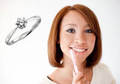 婚約指輪のお手入れ方法