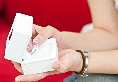 20万ちょっとでもダイヤの指輪が買えました