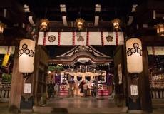 櫛田神社_年末のお参り