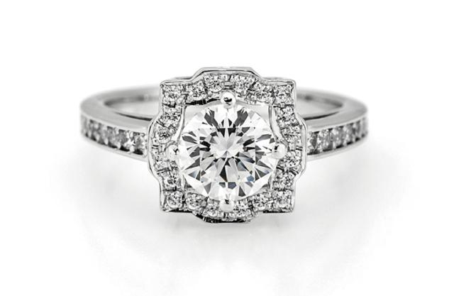 ダイヤモンドがより輝くセッティング