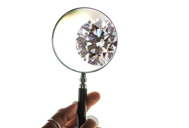 自分でダイヤモンドをチェック