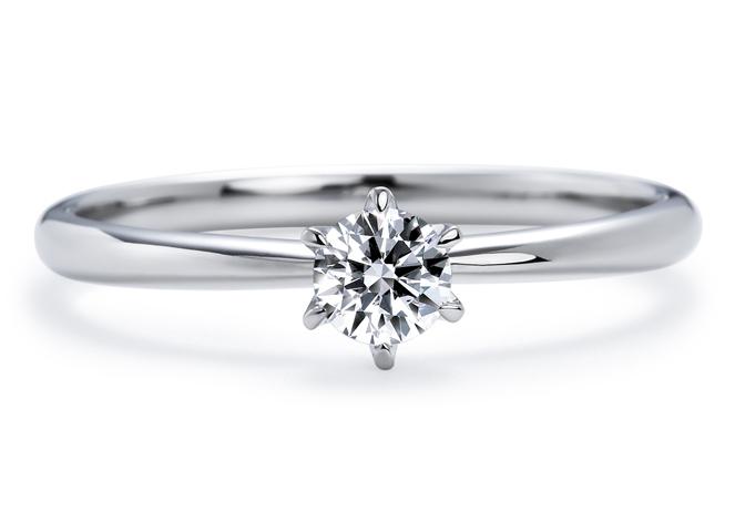 人気のティファニーセッティングの婚約指輪